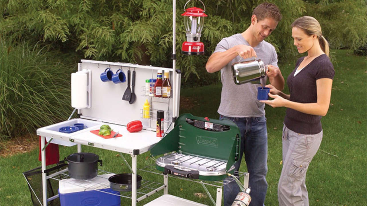 Portable Camping Kitchens - Take the Kitchen With You Car ...