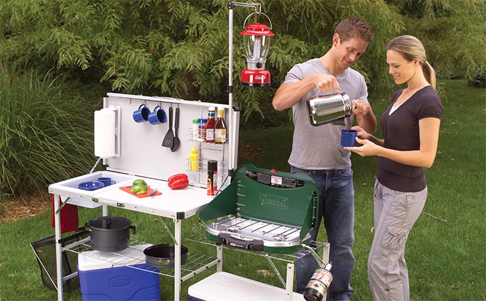 portable camping kitchens