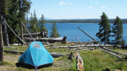 best campgrounds yellowstone park