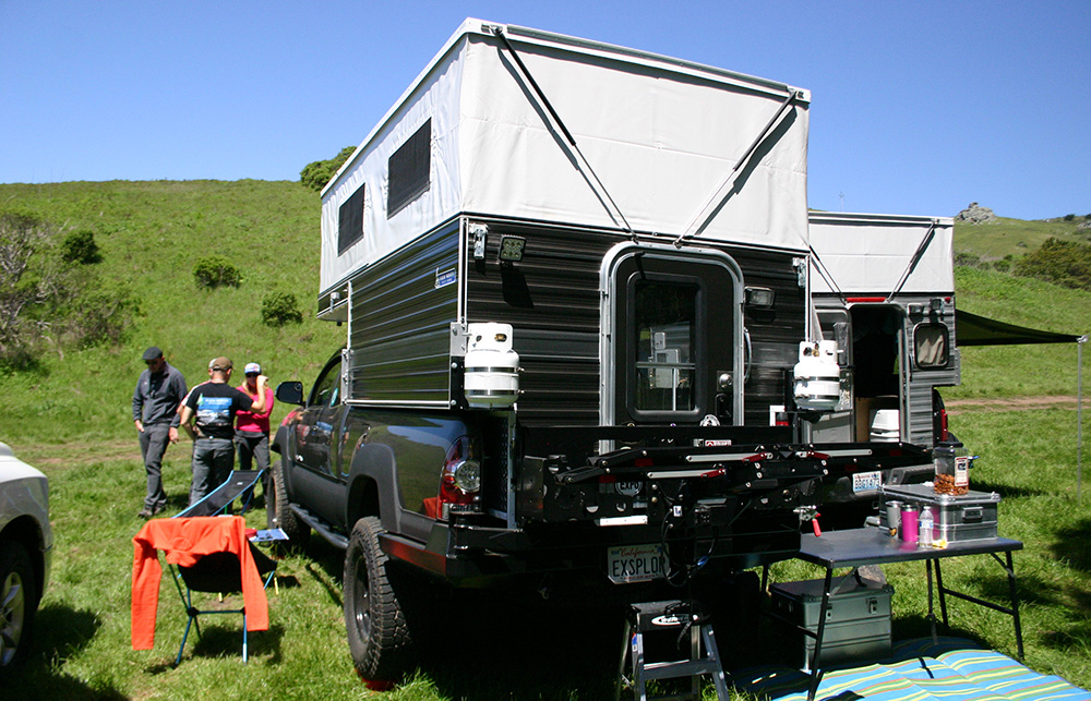 custom four wheel camper toyota tacoma