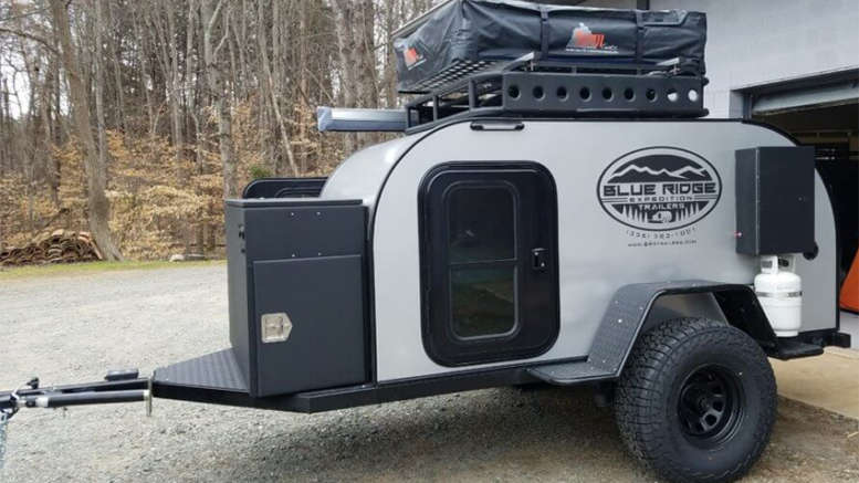 BRX Trailer's Off-Road Teardrop, Quality Built and Packed with