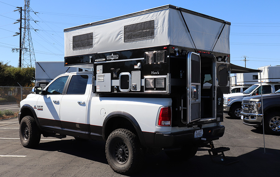 ram 3500 four wheel camper