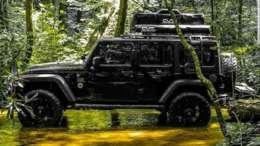 jku overland jeep vader black