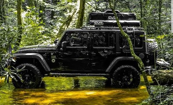 Jeep Vader The Force Is Strong With This Overland Jku