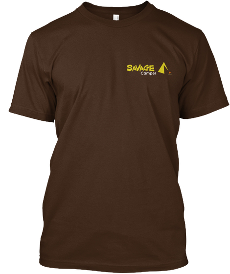 savage camper t shirt front