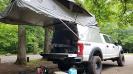 Ford f250 with AT Overland Habitat Truck Camper