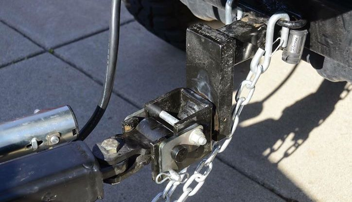 lock and roll swivel rotating hitch