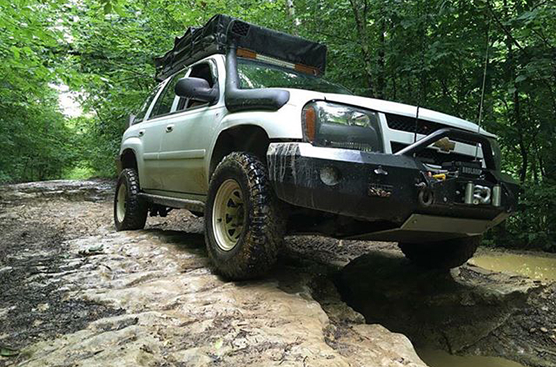 budget overland chevy trailblazer with snorkel