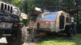 tc teardrop camper off road package