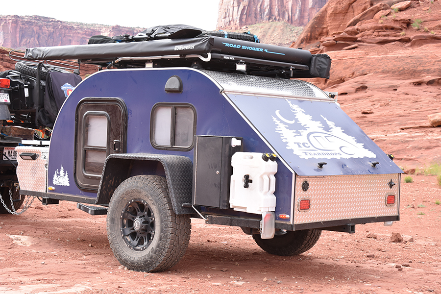 tc teardrop trailer 5x10 off road package