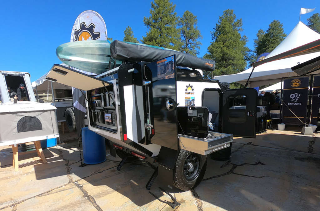 expedition 2 squaredrop off grid trailers