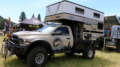 baja runner overland ram 2500 truck with hawk four wheel camper and norweld flatbed