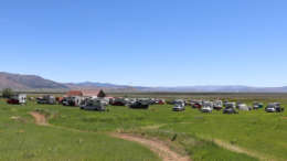 looking over four wheel campers owners rally in beckwourth california