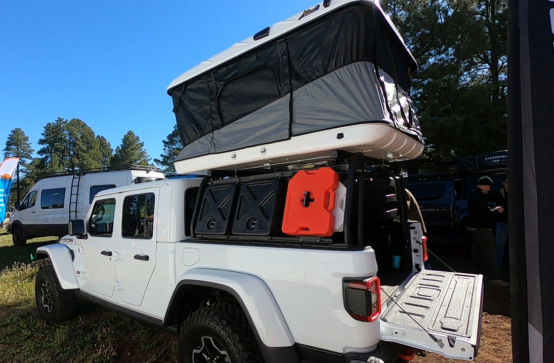Chevy T Shirts >> Overland Jeep Gladiator Cargo Rack System by Leitner Designs