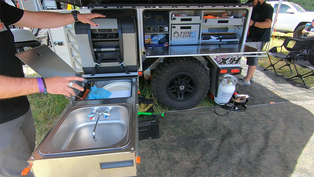 Patriot Camper S X1h Expedition Trailer The Ultimate