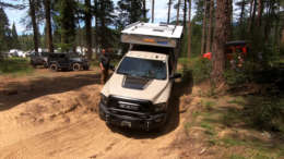 2018 ram 250 hd power wagon four wheel camper norweld flatbed on northwest overland rally course