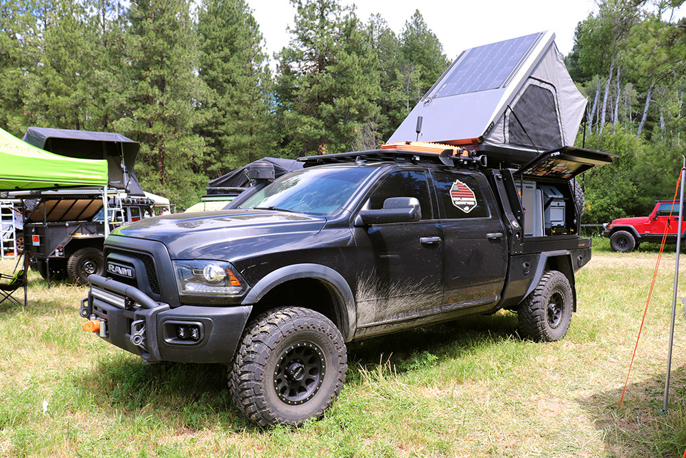 ram 2500 exploration outfitters expedition truck with patriot pcor system