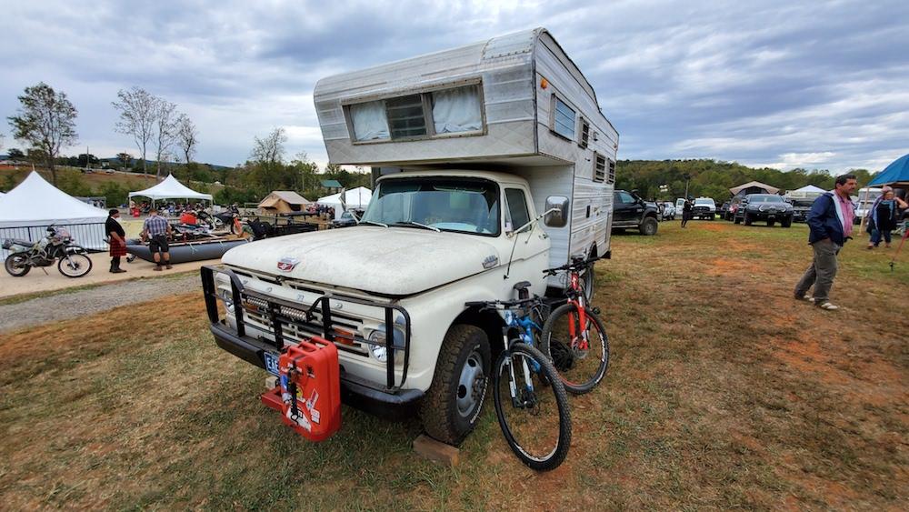 1964 f350 open road camper rv