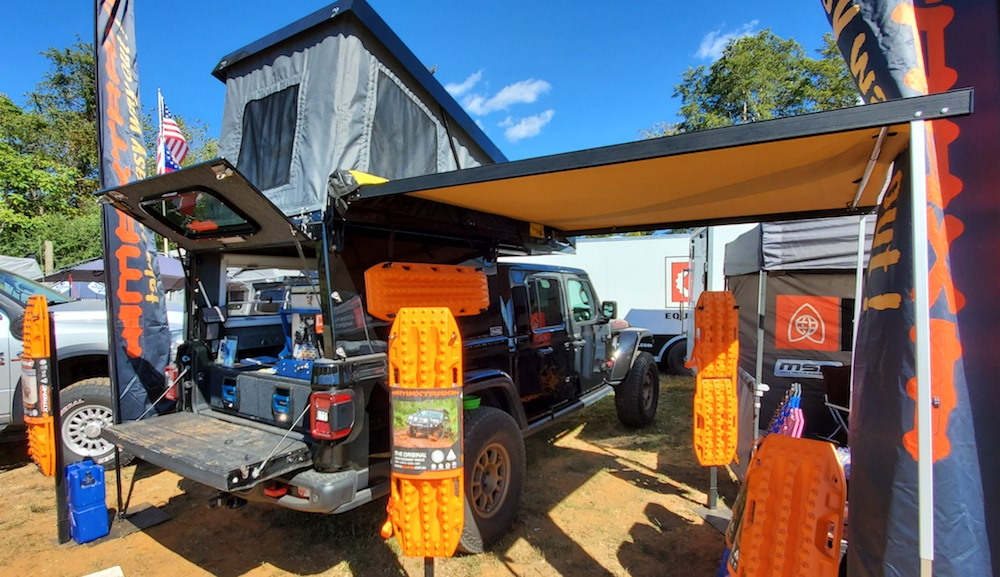 at summit camper on jeep gladiator
