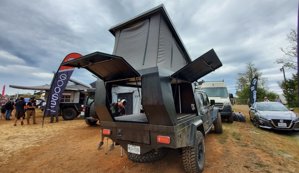 fifty ten flatbed camper fo jeep gladiatorr