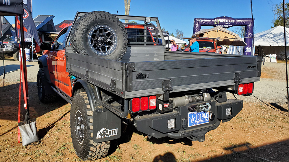 aev zr2 bison tray flatbed