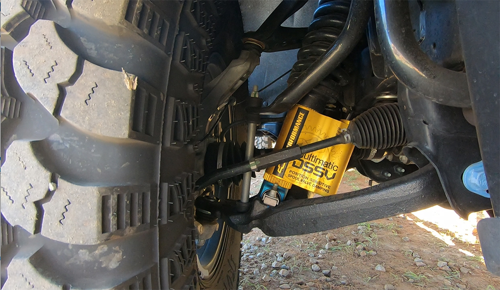 zr2 bison front suspension with dssv multimatic shocks