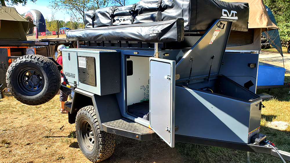 turtleback trailer expedition model