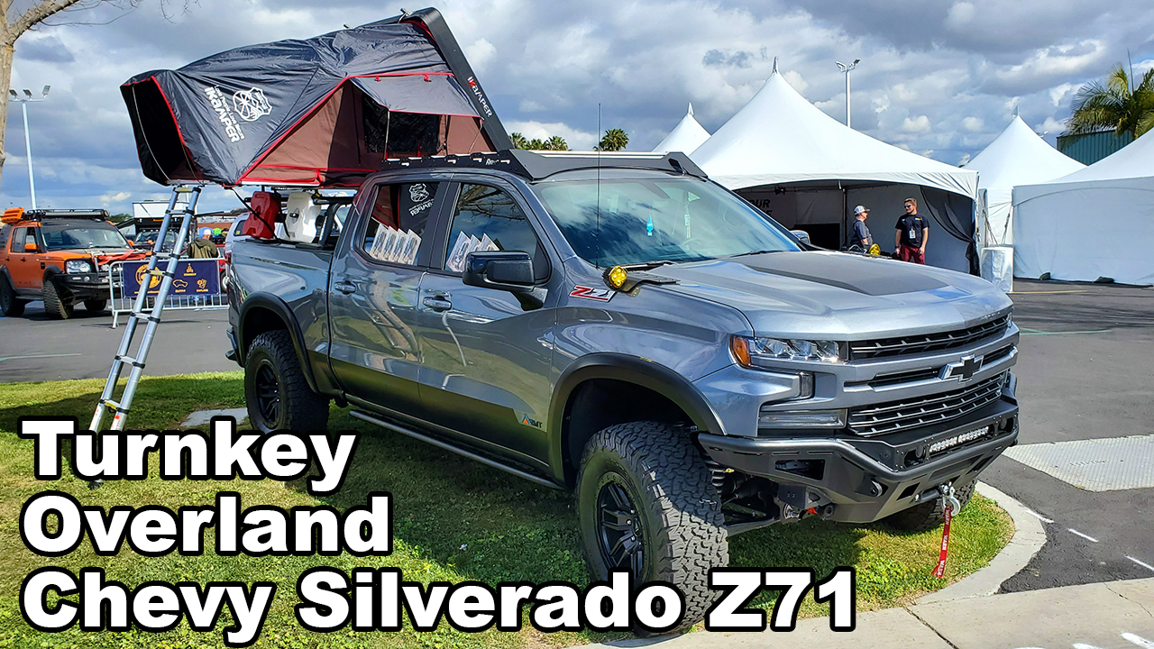 Turnkey Overland Chevy Silverado Z71 Available From Dealerships