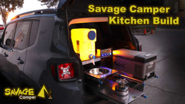 savage camper kitchen