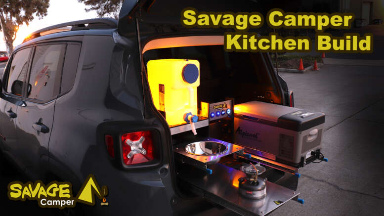 savage camper kitchen