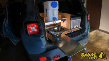 diy camp kitchen build small suv